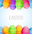 easter eggs design vector image