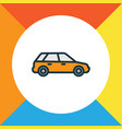station wagon colorful outline symbol premium vector image