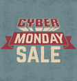 cyber monday sale7 vector image