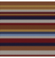 weaving fabric vector image vector image