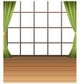 Window Interior Background vector image vector image
