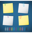 note paper-post it vector image