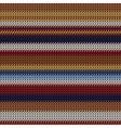 weaving fabric vector image