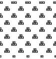abc cubes pattern vector image