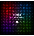 Disco colored abstraction background vector image