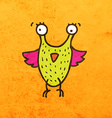 Bird Creature Cartoon vector image