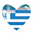 Love for Greece vector image