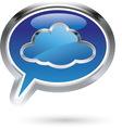 cloud8 vector image