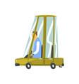Cartoon car vehicle vector image