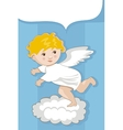 Angel Background vector image