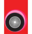 wheel poster vector image