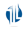 Logo Company Name design perfect motif vector image