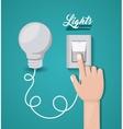 light switch design vector image