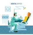 Dental Office Poster vector image