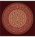 Oriental Feng Shui Pattern vector image vector image
