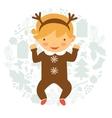 Cute baby vector image vector image