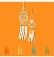 Diwali Indian Festival Icon vector image