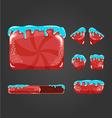 Sweet cartoon user interface games-8 vector image