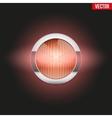 Round car headlight turn indicator is on vector image