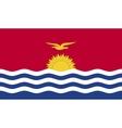 Kiribati flag image vector image