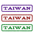 taiwan watermark stamp vector image