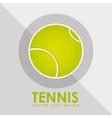 tennis game design vector image