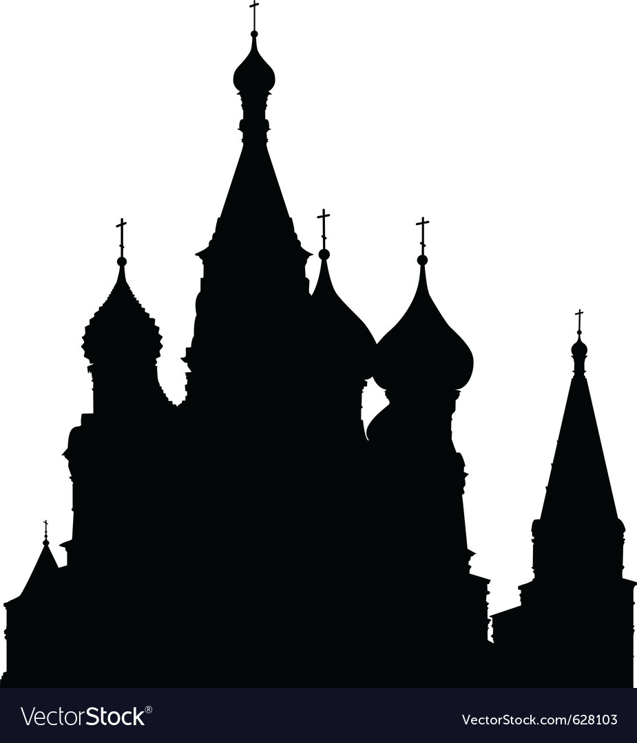 St basils cathedral vector