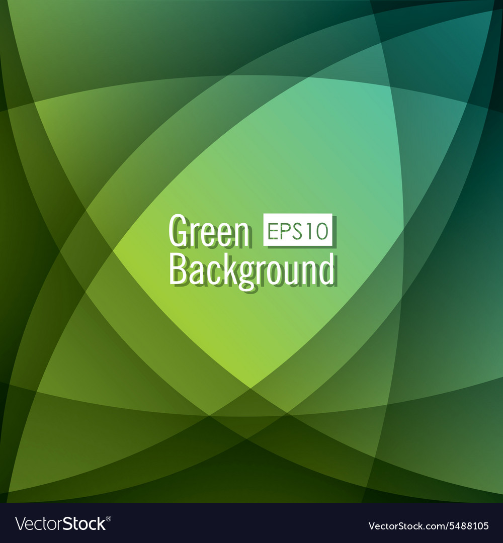 Green background design vector