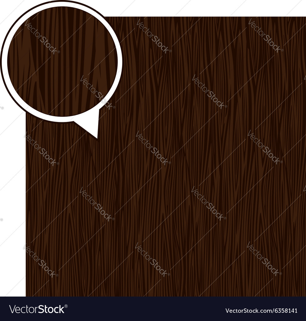 Wood texture background  dark brown vector