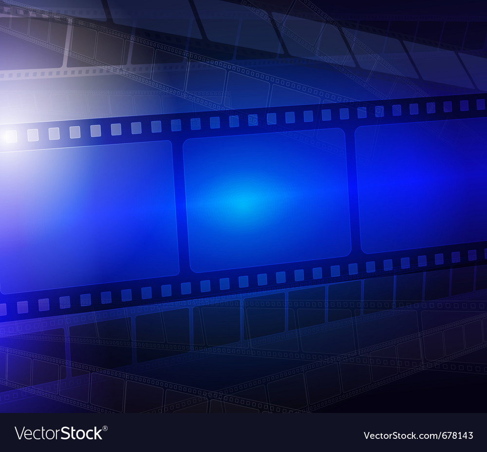 Film strip abstract background vector