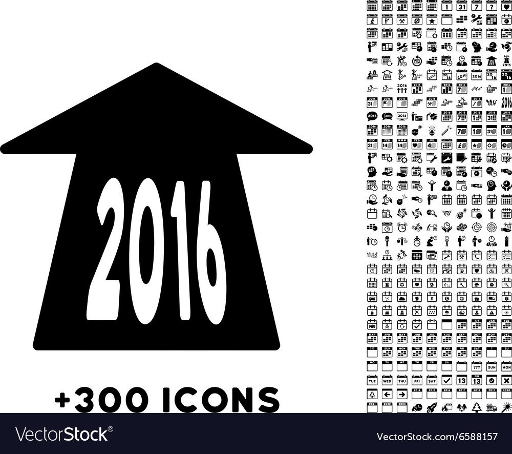 2016 future road icon vector
