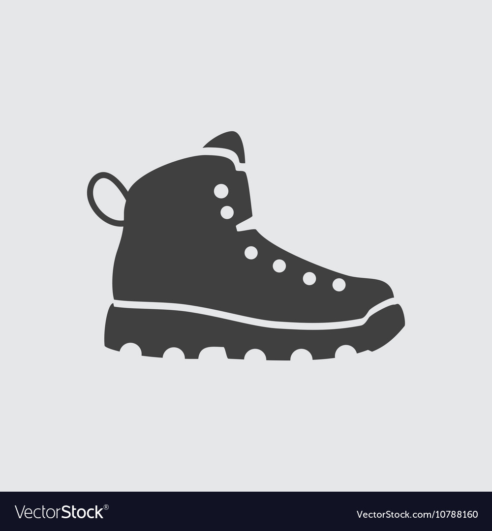 Boot icon vector