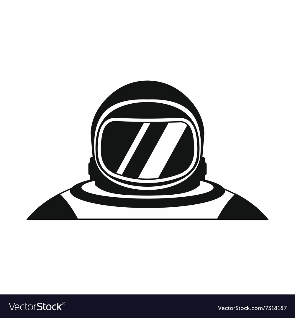 Suit black simple icon vector
