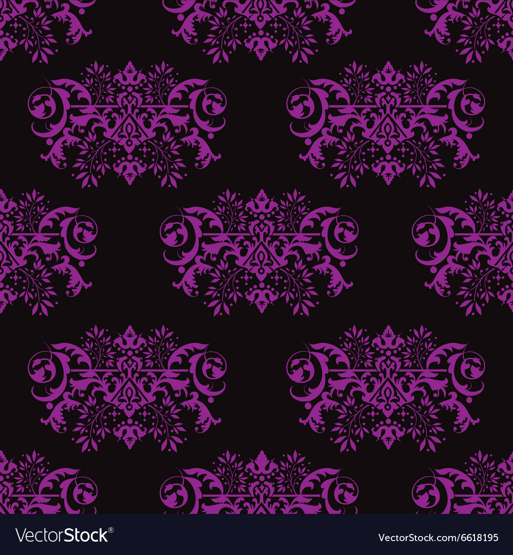 Seamless violet background vector