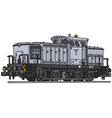 Diesel locomotive vector image