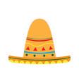 mexican hat icon vector image