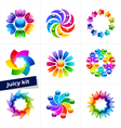 Set for Business Media Beauty Fashion Ecology vector image