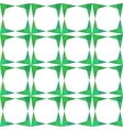 Abstract geometry green seamless pattern vector image