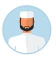 Arabic muslim man vector image