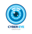 cyber eye vector image