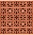 pattern background thai flower vector image
