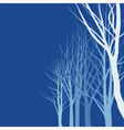 Abstract trees vector image vector image