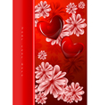 floral backgorund vector image vector image