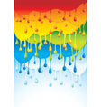 rainbow bright background - vector image vector image