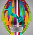 summer sport design series surfing theme vector image
