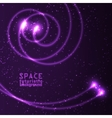 Vast expanses of the universe vector image