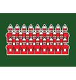 Christmas choir vector image vector image
