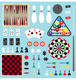 games clipart vector image