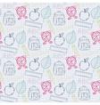 School back pattern vector image