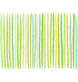 irregular green yellow lines pattern over white vector image
